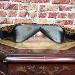 Ralph Lauren Purple Label Shoes - Ralph Lauren Collection Calf Hair Leopard Heels